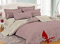 ✅ Полуторный комплект постельного белья (Поплин) TAG PC047