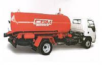 Ассенизационная вакуумная машина КО-503 на шасси ISUZU NPR 75L-K