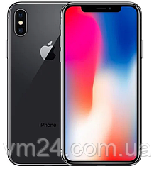 Мобильный телефон Apple iPhone X 64Gb Space Gray (MQAC2)  Б/У, идеал Neverlock