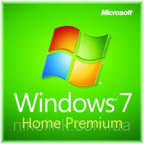 Microsoft Windows 7 Home Prem OA SP1 32/64bit, Rus,Eng OEM (Acer) лицензия