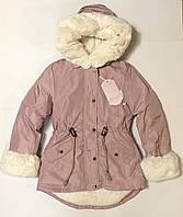 Куртка-парка для девочки 8-16 лет