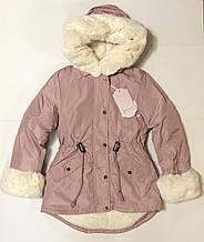 Куртка-парка для девочки рю16 лет