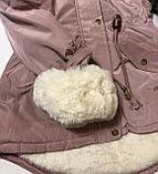 Куртка-парка для девочки рю16 лет, фото 4