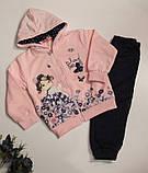 Теплый костюм на девочку арт 81896  розовый 98/104 GRACE ., фото 3
