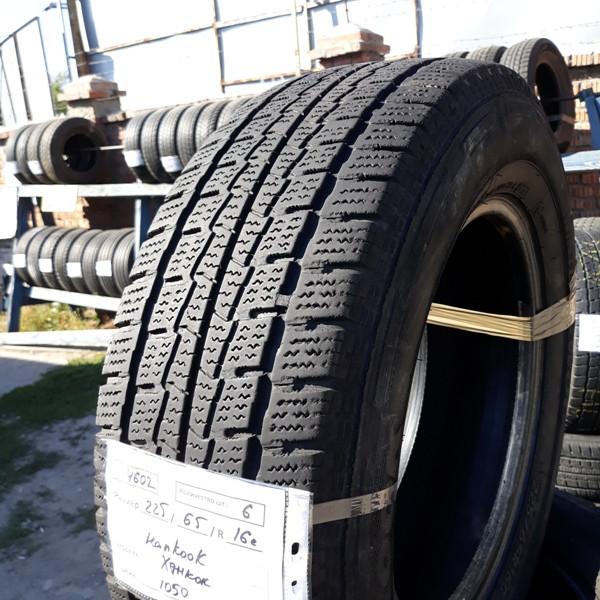 Бусовские шины б.у. / резина бу 225.65.r16с Hankook Winter RW06 Хенкок