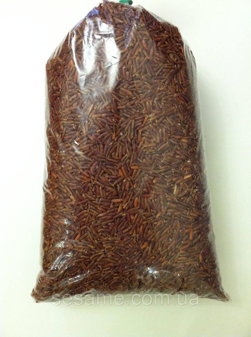 Дикий Коричневый (красный) рис 1 кг (Вьетнам)