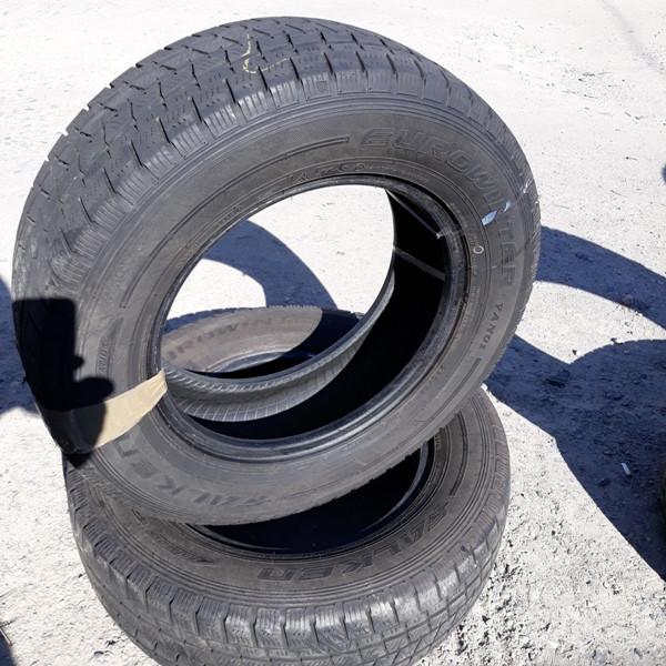 Бусовские шины б.у. / резина бу 225.65.r16с Falken EuroWinter Van 01 Фалкен