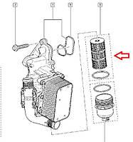 Фильтр масляный Renault Master III (Рено Мастер 3) - 2.3 Dci (M9T). Оригинал Renault - 152094543R