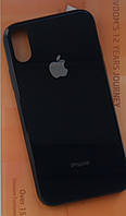 Чехол Glass Case IPHONE Х/XS (Black), фото 1