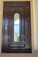 Двери входные. Деревянные.