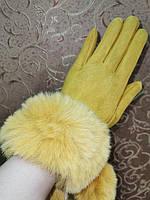 ЗАМШ женские перчатки (только оптом)