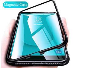 Магнитный чехол (Magnetic case) для Samsung Galaxy J6 Plus