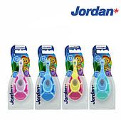 Детская зубная щетка-грызунок Jordan Step1 (от 0-2 лет), мягкая