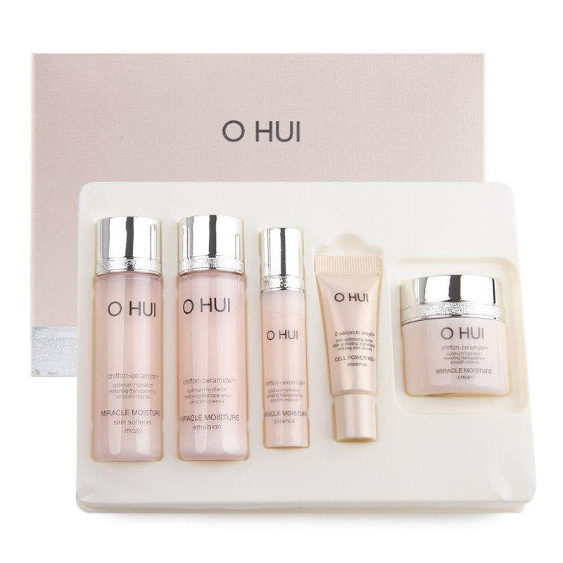 Увлажняющий набор средств для лица O HUI Miracle Moisture Gift set 5 item