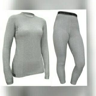 Термобельё женское теплое Berkner костюм комплект TERMO,с ионами серебра, XL