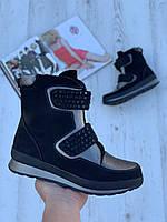 Ботинки женские зимние с супинатором 6 пар в ящике черного цвета 36-41, фото 1