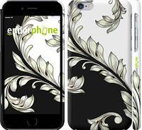 """Чехол на iPhone 6 White and black 1 """"2805c-45"""""""