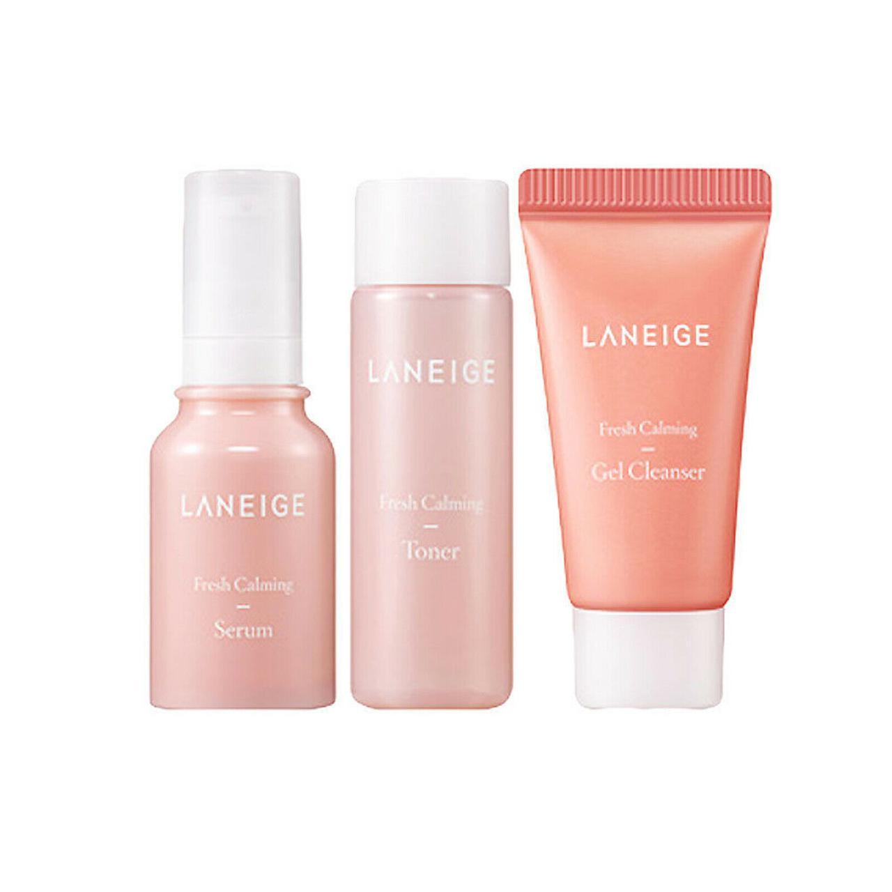 Набор из пенки, тонера, сыворотки Laneige Fresh Calming Trial Kit (3 items)