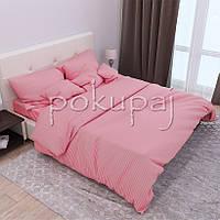 Комплект постельного белья Krispol страйп сатин люкс семейный 541640 с