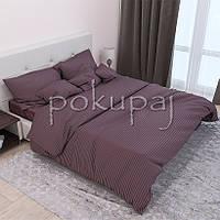 Комплект постельного белья Krispol страйп сатин люкс семейный 541420 с