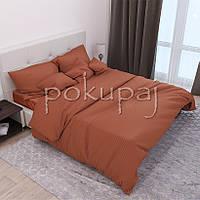 Комплект постельного белья Krispol страйп сатин люкс семейный 541340 с