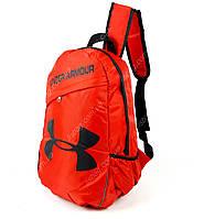 Яркий повседневный спортивный рюкзак Under Armour Красного цвета