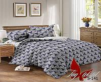 ✅ Семейный комплект постельного белья (Люкс-сатин) TAG S-141