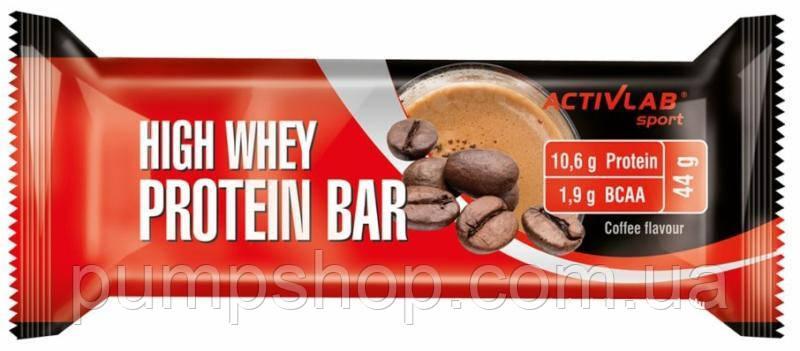 Протеиновый батончик ActivLab High Whey Protein Bar 44 г
