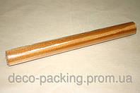 Светло-коричневая органза для упаковки цветов 50 см * 9 ярдов