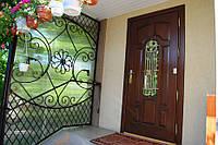 Двери входные. Деревянные. www.vikno-dveri.com.ua