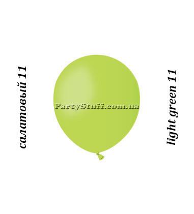 Воздушные шары Gemar А50 Салатовый пастель