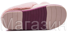 """Домашние теплые тапочки с помпонами Furry Bells """"Pink"""" розовые размер 36, фото 3"""