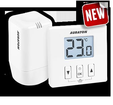 Беспроводной регулятор температуры AURATON 200 TRA для радиаторов