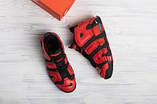 Мужские кроссовки в стиле Nike Air More Uptempo Infrared, фото 3