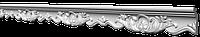Потолочный плинтус с орнаментом из пенопласта  GP40 Glanzepol 78х44