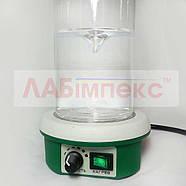 Магнитная мешалка ПЭ-6110 с подогревом (1500 об/мин, 100°С), фото 2