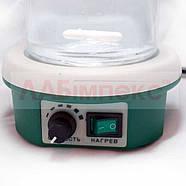 Магнитная мешалка ПЭ-6110 с подогревом (1500 об/мин, 100°С), фото 3