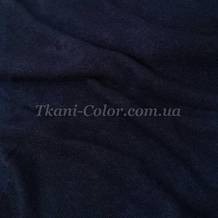 Трикотаж ангора арктика темно-синяя, фото 2