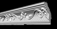 Потолочный плинтус с орнаментом для натяжного потолка  GP26 Glanzepol 118х54