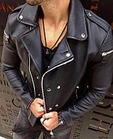 Топовая мужская косуха черная