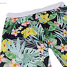 Лосины для фитнеса леггинсы для спорта принт тропики-джунгли  №43 (S), фото 6