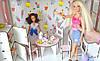 Домик для кукол Барби 3123 Уютная вилла с мебелью, обоями и текстилем. 2 этажа, фото 6