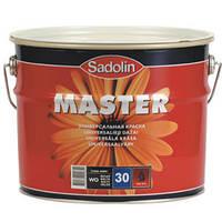 Краска по дереву и металлу Sadolin MASTER 30 (полуматовая) 10л
