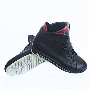 Высокие зимние ботинки IКОС на натуральном меху