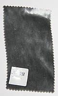 Бархат на шелке № Б 12.031, серый оттенком серебра, средний тонкий