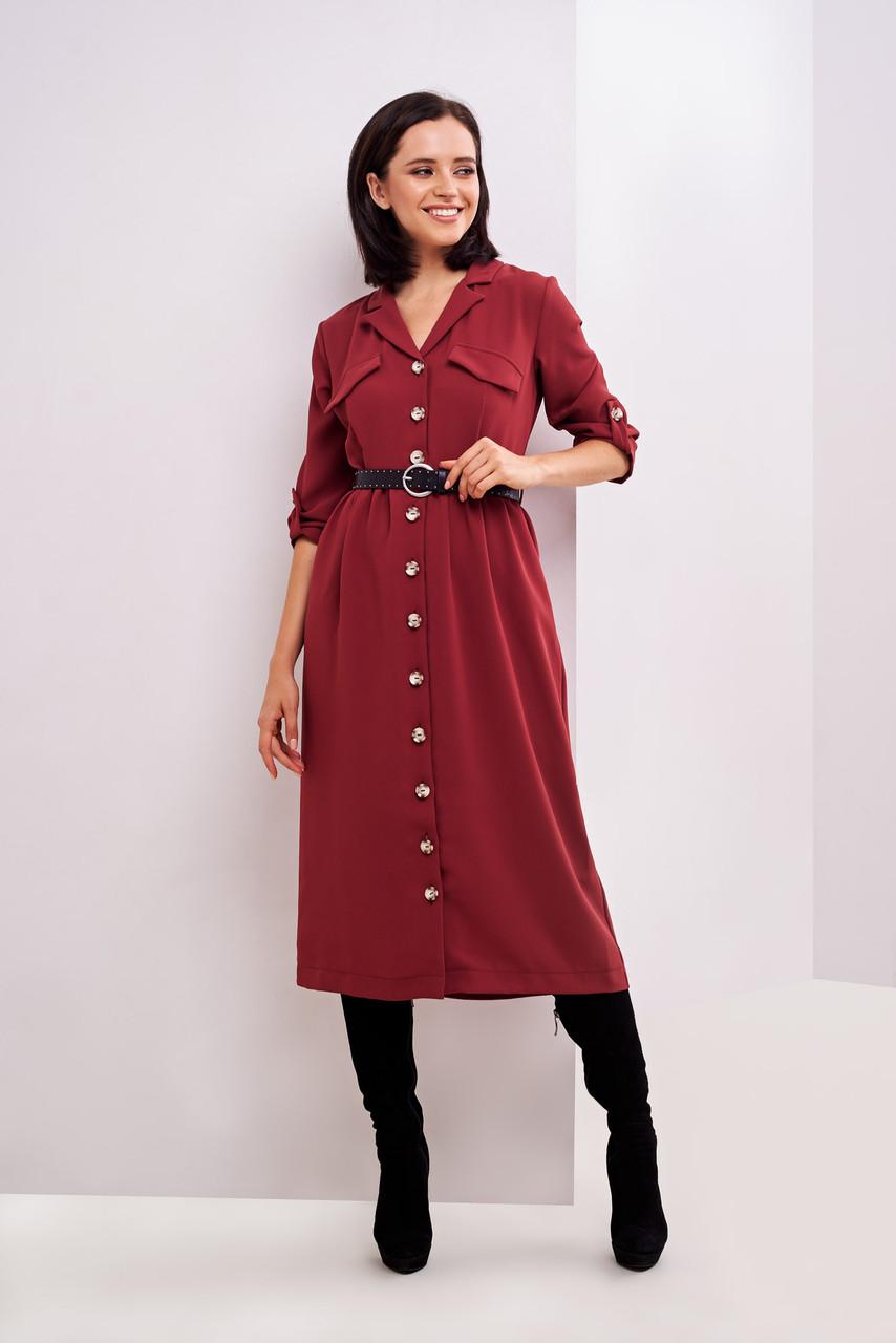 Платье-рубашка  42,44,46 размеры