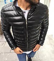 Мужская короткая куртка черная