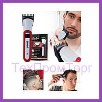 Беспроводная машинка для стрижки волос, Машинка GEMEI работает на аккумуляторе