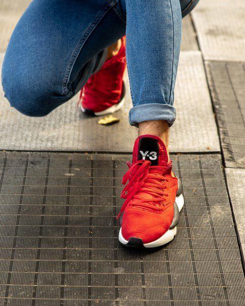 Мужские кроссовки Adidas Y-3 Kaiwa, два цвета