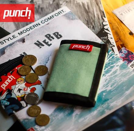 Кошелек PUNCH, стильный кошелек, молодежный кошелек, кошелек интернет, фото 2